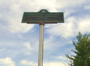 Albert Fargnoli Memorial Lawrence St. & Marion Ave
